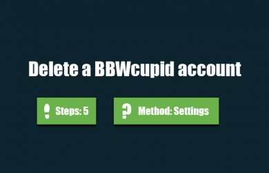 How To Delete My Cupid Account