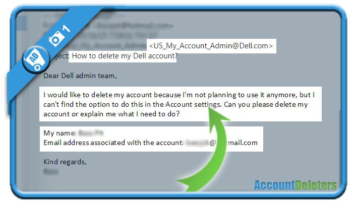 delete dell account 1
