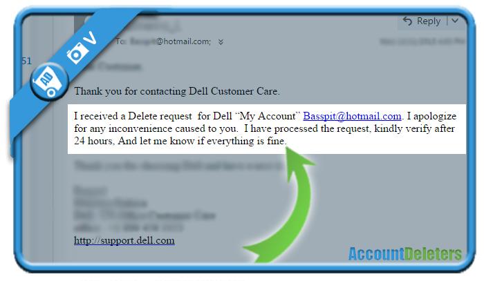 delete dell account 2