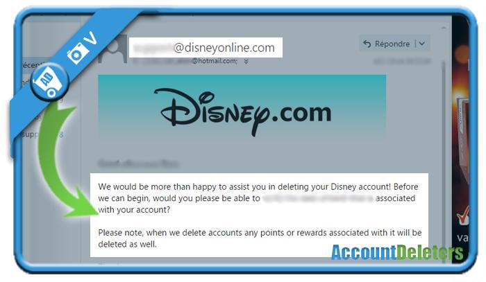 delete disney account 7