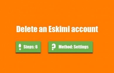 delete eskimi account 0