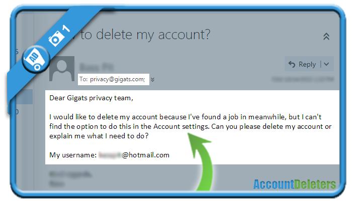 delete gigats account 1