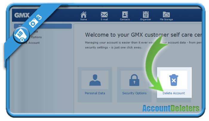 delete gmx account 3