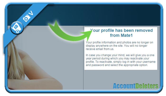 delete mate1 account 6