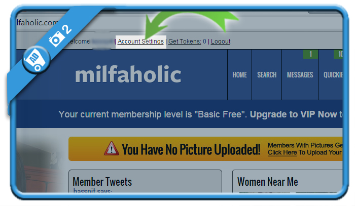 delete milfaholic account 2