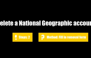 delete national geographic 0