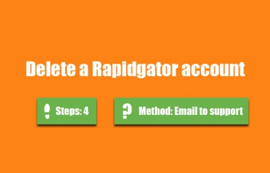 delete rapidgator account 0