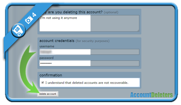 delete reddit account 4