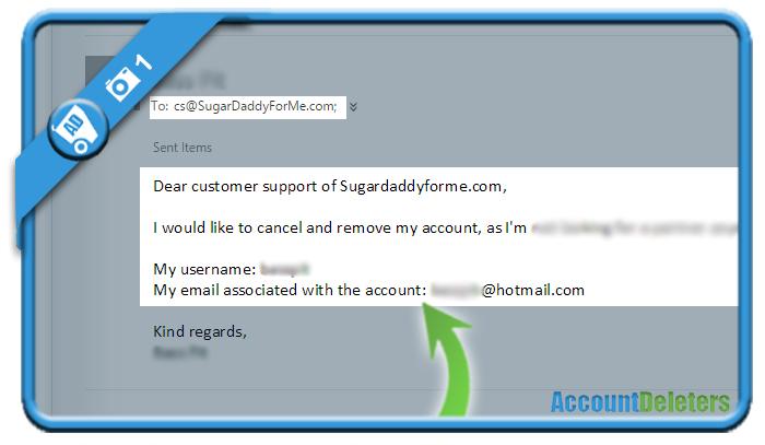 delete sugardaddyforme account 1