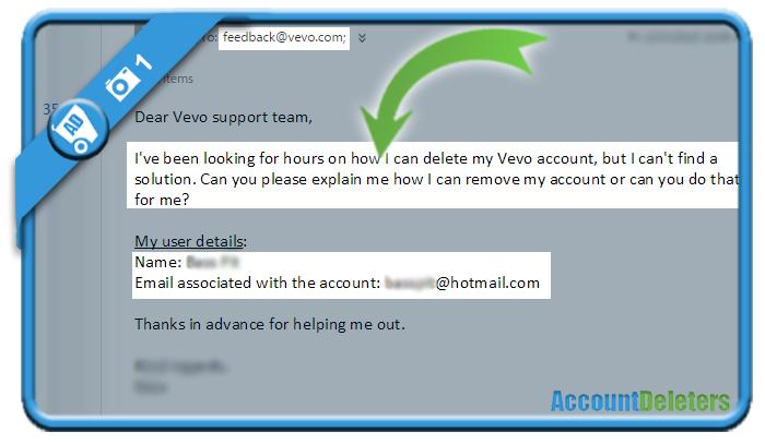 delete vevo account 1