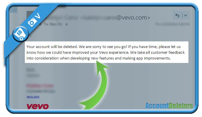 delete vevo account 2