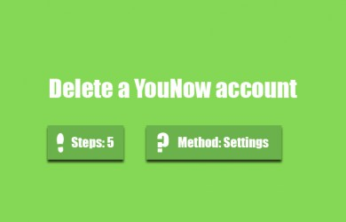 delete younow account 0
