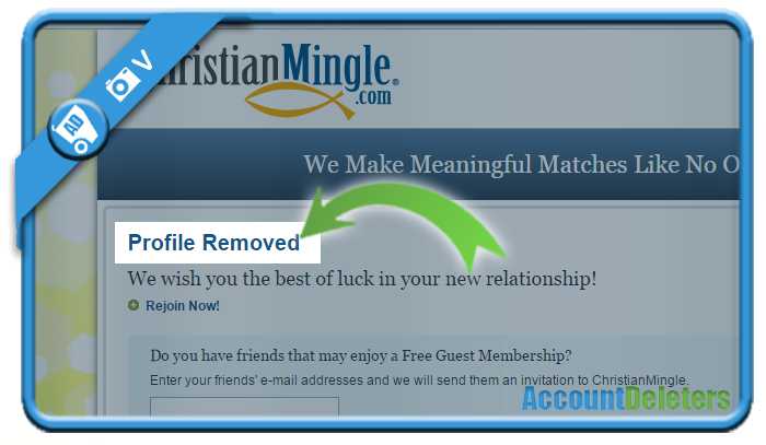 delete christian mingle account 5