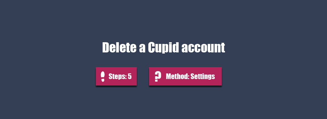 How to Delete Okcupid Account Profile Permanently