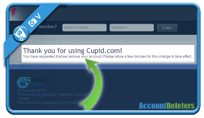 delete cupid account 6