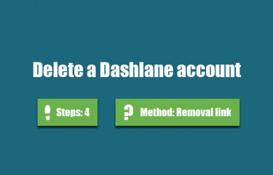 delete dashlane account 0