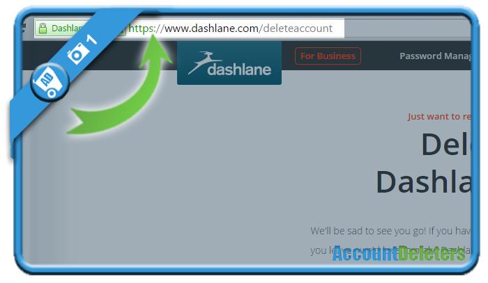 delete dashlane account 1