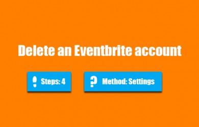 delete eventbrite account 0