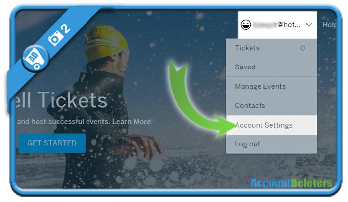 delete eventbrite account 2