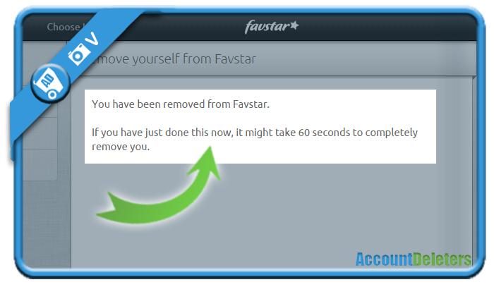 delete favstar account 4