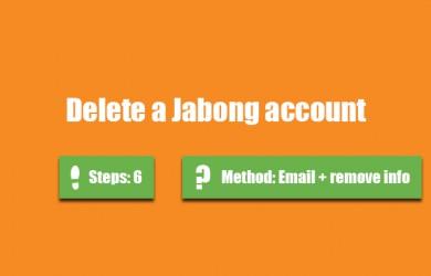 delete jabong account 0