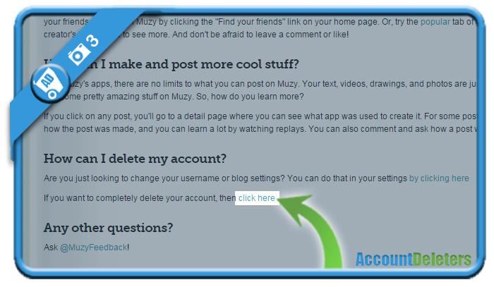 delete muzy account 3