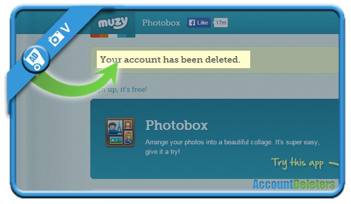 delete muzy account 5