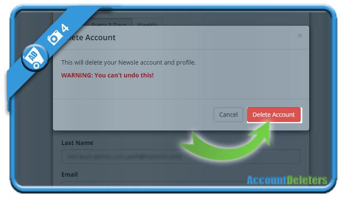 delete newsle account 4
