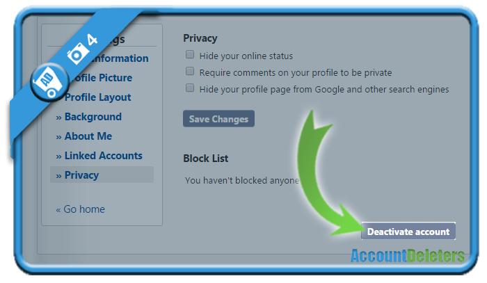 delete quotev account 4