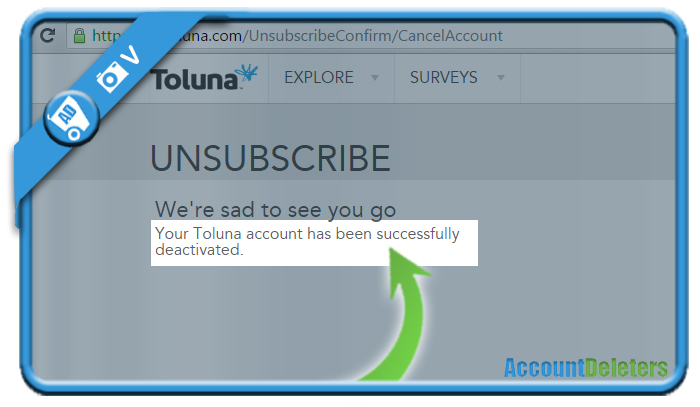 delete toluna account 5