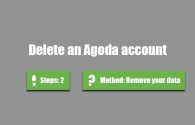 delete agoda account 0