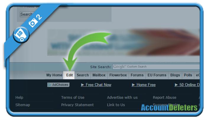 delete connectingsingles account 2