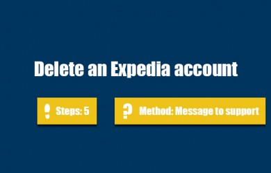 delete expedia account 0