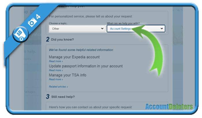 delete expedia account 4