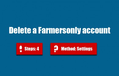 delete farmersonly account 0