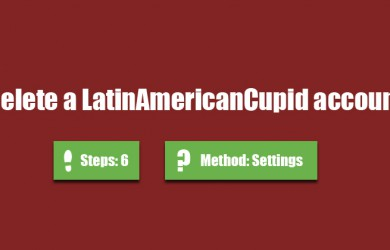 delete latinamericancupid account 0