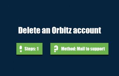 delete orbitz account 0