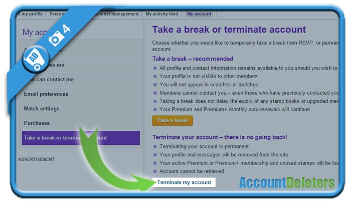 delete rsvp account 4