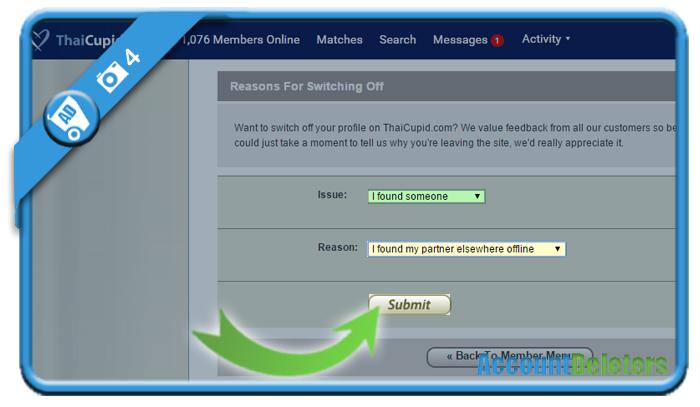 delete thaicupid account 4