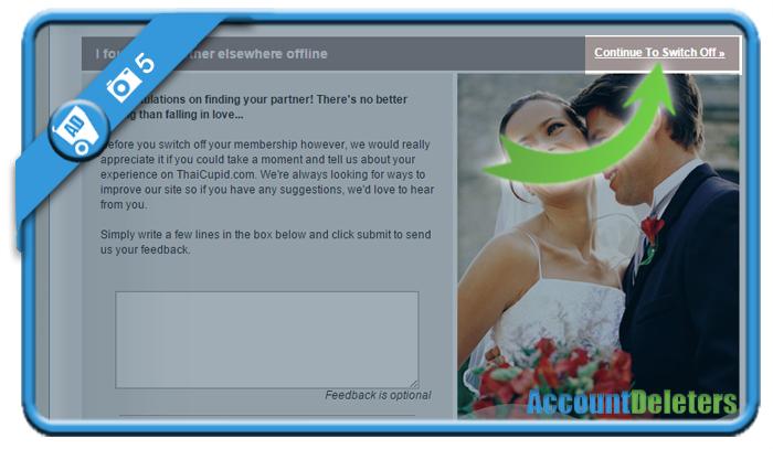 delete thaicupid account 5