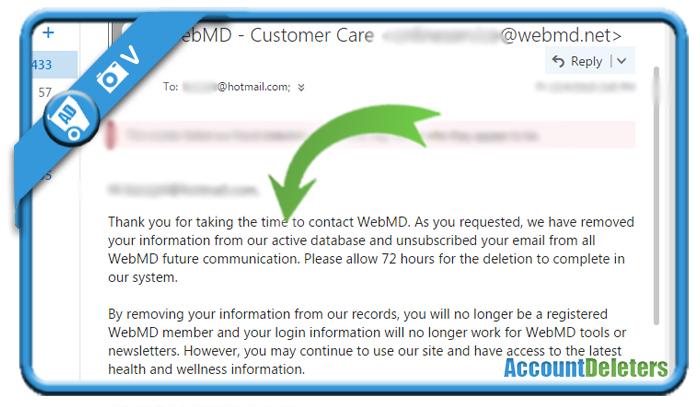 delete webmd account 4