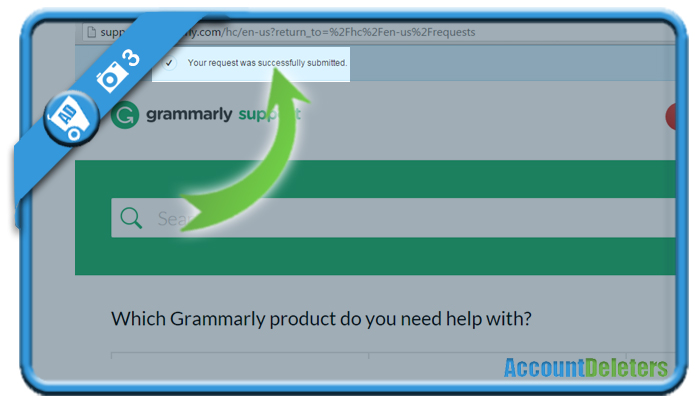 delete grammarly account 3