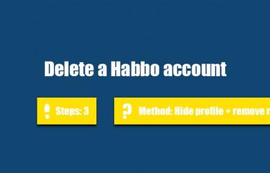 delete habbo account 0