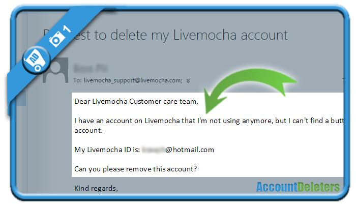 delete livemocha account 1