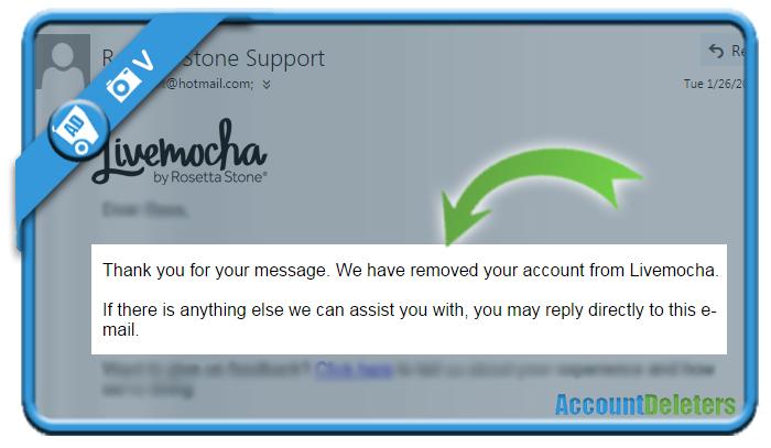 delete livemocha account 2