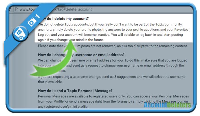 delete topix account 1