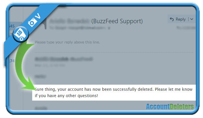 delete buzzfeed account 3