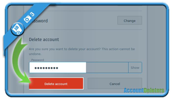delete firefox account 3