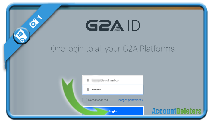 delete g2a account 1