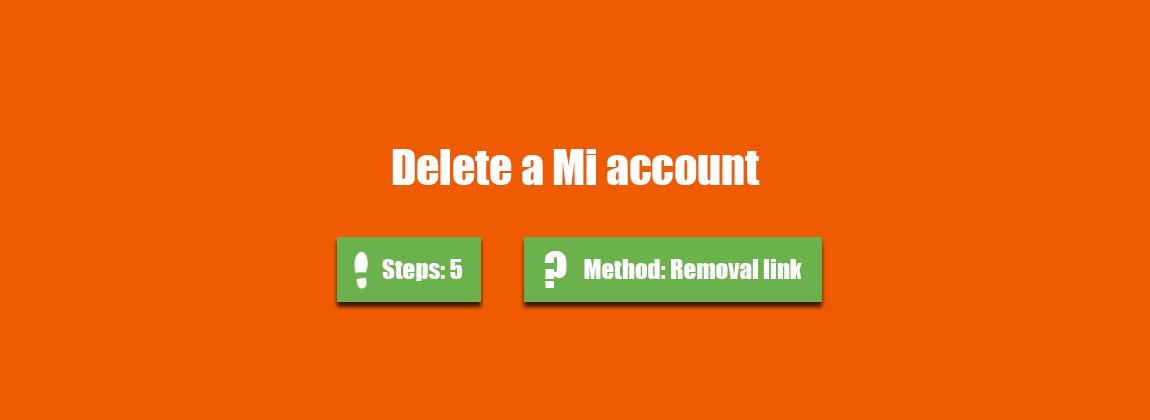 How To Delete My Mi Xiaomi Account Accountdeleters